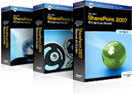 SharePoint Training DVDs Boxes